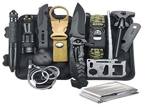 Bug Out Backpack Equipment and Accessories with fire Starter and
