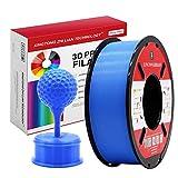 PLA Azul Filamento de Impresión 3D 1.75mm Materiales Precisión +/- 0.02 mm 1kg/un carrete