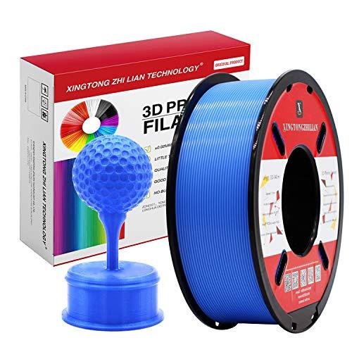 PLA Blau 3D Drucker Filament 1.75mm 3D-Druckmaterialien für 3D Stift Druck Maßgenauigkeit +/- 0.02mm 1kg / Spule