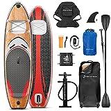 ¡Novedad de feria ISPO 2020! Premium Tabla Hinchable Paddle Surf WBX con...