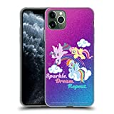 Official My Little Pony Sparkle Rainbow Vibes Soft Gel Case Compatible for iPhone 11 Pro Max
