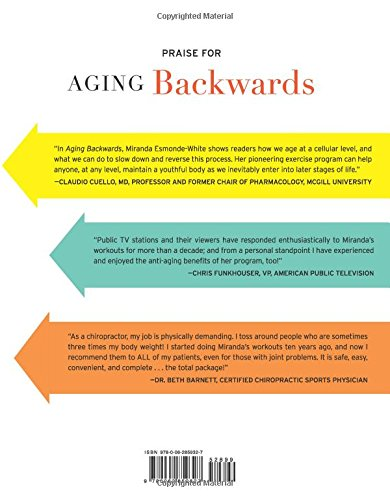 51EfqqerVjL - Aging Backwards: Updated and Revised Edition: Reverse the Aging Process and Look 10 Years Younger in 30 Minutes a Day