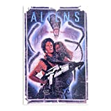 Aliens Ghana Poster – Kunstdruck, trendig für die