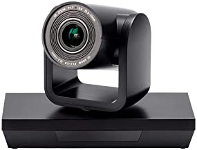Workstream by Monoprice PTZ Conference Camera Pan and Tilt with Remote 1080p Webcam USB 3.0 3X Optical Zoom