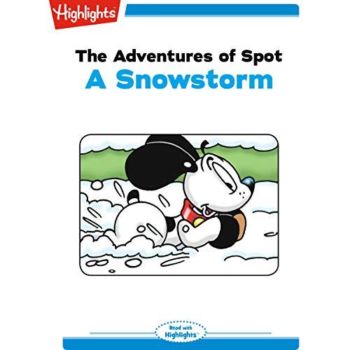 The Adventures of Spot: A Snowstorm copertina
