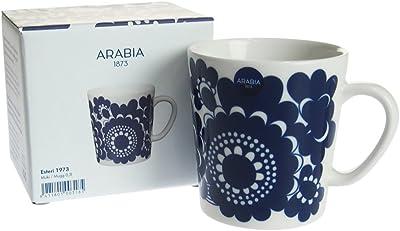アラビア (ARABIA) フィンランド100周年マグ エステリ(ESTERI) 1973 【並行輸入品】 64-1180-100318-5