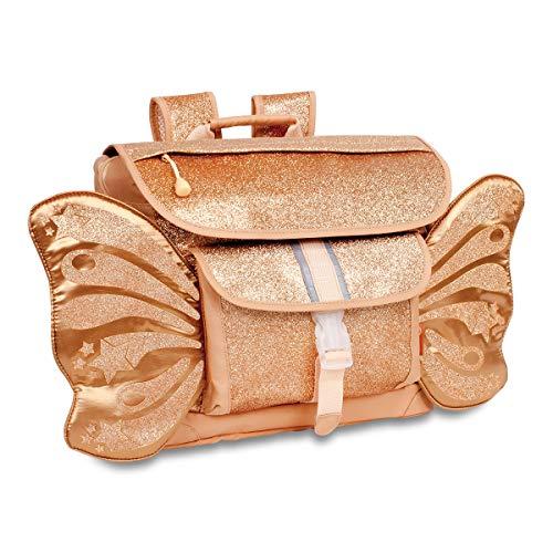 Bixbee Kids Backpack, Sparkalicious Gold Butterflyer, Medium