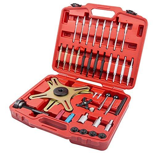 maXpeedingrods Réglage de l'alignement de l'embrayage, Kit d'Outils d'Embrayage Universel avec Boîte de Rangement