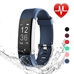 Heart Rate Monitoring: Automatically tracks your real-time heart rate, sleep quality, 14 kinds of sports like running, workout, hiking, and etc. and a map of your workout route; reminders you to move after long time of inactivity Everyday Activity Tr...