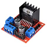 Kuman Arduino Motor Drive Modulo Controller Bordo Mini Stepper L298N Dual H Bridge DC Stepper per Arduino Smart Car Robot K48