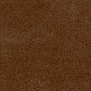 Suede Microsuede Upholstery Fabric-Chocolate- 58