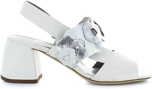 IXOS Damen X18E35124036 Weißs Leder Sandalen