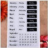 KWELLAM Words Calendar Week Month January December Monday Sunday...