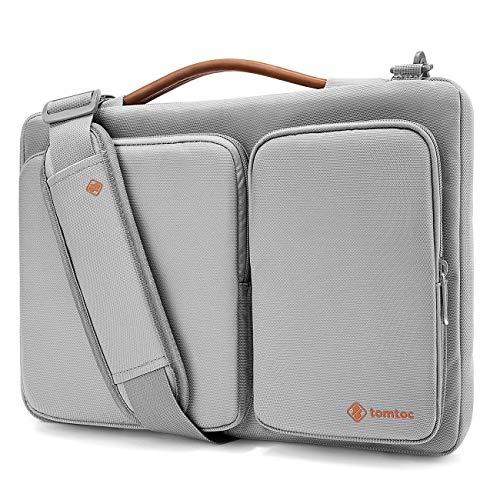 tomtoc 14 Zoll Laptop Schultertasche für MacBook Pro 15