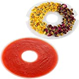 Best Fruit Dehydrators - Elechomes Round Fruit Roll Sheet and Mesh Screen Review