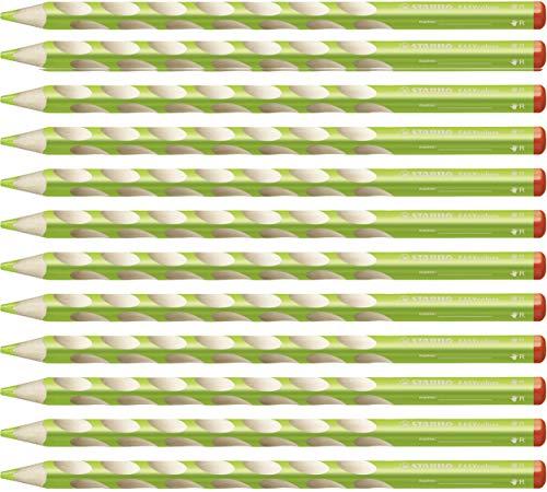 STABILO EASYcolors matita colorata per destrimani colore Verde Chiaro - Confezione da 12