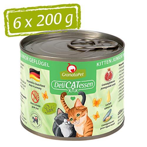 DeliCatessen Kitten Geflügel, 6er Pack (6 x 200 Grams)