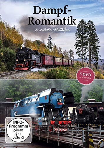 Dampf-Romantik: Eisenbahn Nostalgie (5 Dvd)