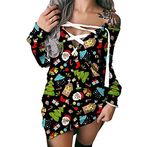 SLYZ 2021 Primavera Y Otoño Mujer Estilo Europeo Y Americano Estampado A Rayas Sexy Suéter con Cordones Camiseta Blusa