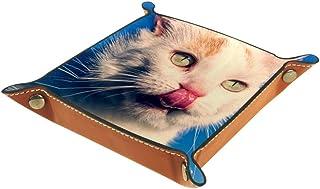 Desheze Chat (8) Boîte de Rangement Pliable Stockage Boîte Maquillage Bijoux Jouets Papeterie Organisateur Petite Taille p...