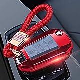 LLOOMMB Porte-clés for Support de Couvercle de clé de Voiture, Coque de clé pour Bouton, pour Citroen C4 Cactus C5 C3 C4L C6 pour Peugeot 508301 2008 3008308408 RCZ 4008 3, Option 5