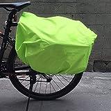 Impermeable 49.61X25.98in Funda para lluvia para bolsa de bicicleta, Funda para lluvia para bolsa de rejilla para bicicleta, Plegable para bicicletas Bicicletas de montaña Uso de viaje Uso al aire lib