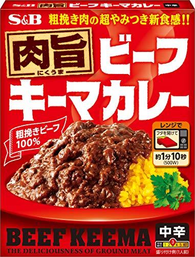 エスビー食品 肉旨ビーフ キーマカレー 中辛 150g ×6箱