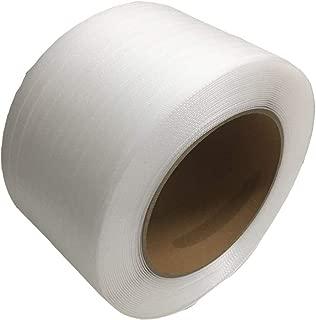 【Amazon.co.jp限定】セーフラン(SAFERUN) 梱包用PPバンド PP 透明 厚さ0.6mm 幅14mm 長さ1000m 1巻入り
