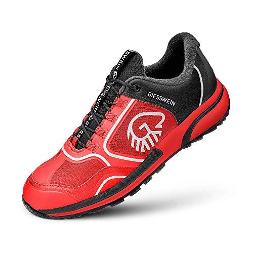 Giesswein Sportschuh Wool Cross X Women - Innovativer Sneaker für Damen, Performance Schuhe mit 100% Merino Wolle, Reflektierende Frauenschuhe, Micro-Grip Sohle