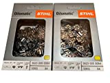 Stihl 33RS-84 2PK, 3/8' .050 Gauge, 84 Drive Links, 25', Rapid Super, Professional Saw Chain, 3623-005-0084