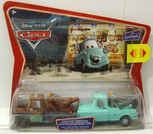 Disney Pixar Cars - Supercharged Mater and Brand New Mater