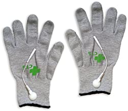 Silver Conductive Gloves for Use with Tens Machine - Supplied As Pair (FDA Approved)