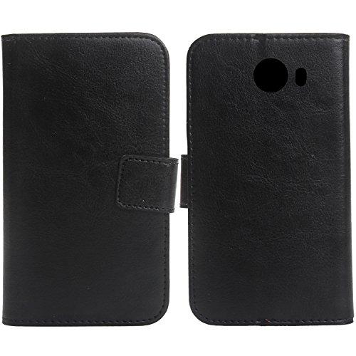 Gukas PU Leder Tasche Hülle Für Alcatel A30 Plus 5.5