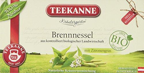 Teekanne Österreich Kräutergarten Bio Brennnessel mit Zitronengras, 6er Pack (6 x 36 g)