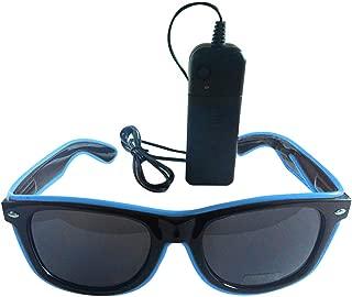 L schwarz-neongrün Freak Scene Sonnenbrille