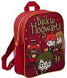 HARRY POTTER Mochila de Dibujos Animados de Hogwarts (Mochila Escolar con Encanto) para niños Talla única Volver a Hogwarts