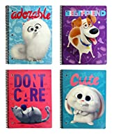 Secret Life of Pets テーマブック 10.5インチ x 8インチ 詰め合わせ 12本 バリューパック