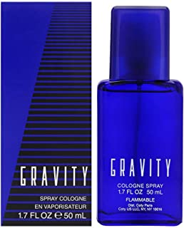 Coty Classics Perfume Gravity 1.7 Fluid Ounce Men's' Fragrance in a Classic, Appealing Scent, Great Gift for Cologne or Perfume Lovers