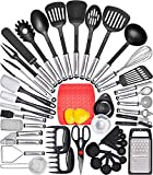 Kitchen Utensil Set Cooking Utensils Set - Nylon Kitchen Utensils Set Kitchen Tool Set 44 Pcs. Cooking Utensil Set Kitchen Set Spatula Set Kitchen Gadgets Kitchen Tools Kitchen Accessories Cooking Set