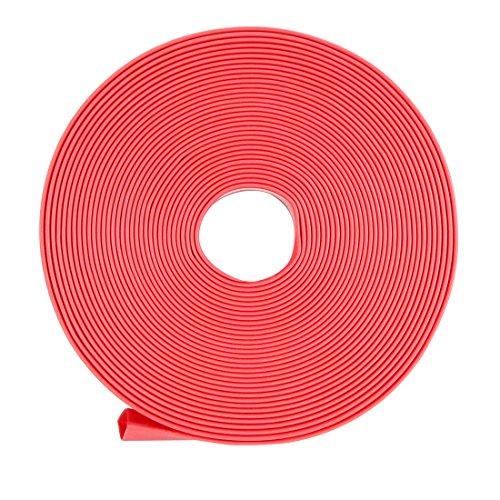 Sourcingmap Schrumpfschlauch 2: 1Elektrische Isolierung Tube Draht Kabel Tubing sleeven Wrap rot 13mm Durchmesser Länge: 5m