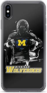 iPhone 6/6s Pure Clear Case Cases Cover Michigan - Wolverines Super Fan
