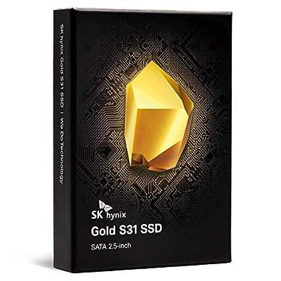 SK hynix Gold S31 500GB 3D NAND 2.5 inch SATA III Internal SSD from SK hynix