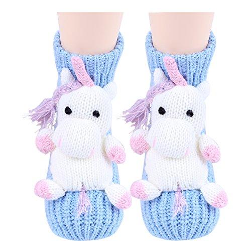 Amkun Damen Socken One size Gr. One size, Einhorn