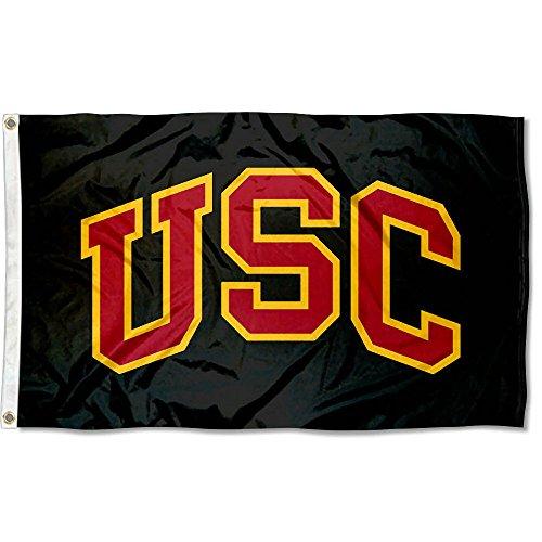 College Flags & Banners Co. USC Trojans Black Flag