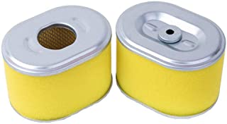 HEYZLASS 2 Pack 17210-ZE1-505 Air Filter, Replace for Honda GX160 GX200 GX140 Engine OEM Air Cleaner and More, Plus Pre Filter