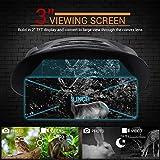 Boyuan Binoculares de visión Nocturna, osciloscopios de visión Nocturna Infrarrojos Digitales de 7x21 mm Que Pueden Tomar imágenes y Videos de Infrarrojos de día o de Noche Desde 200 m / 700 pies
