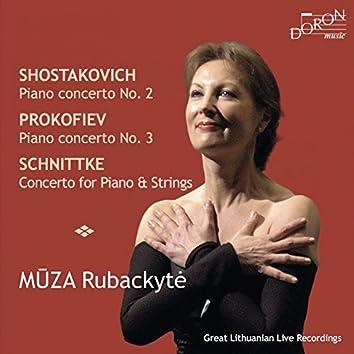 Shostakovitch, Prokofiev & Schnittke: Piano Concertos