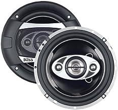 BOSS Audio B62RGB Marine Waketower Speaker System 2 Way 750 Watts Max Per Pair for Boats//ATV//UTV IPX5 Rated Weatherproof Sold in Pairs 6.5 Inch Bluetooth RGB LED Illumination Full Range