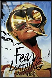 Fear and Loathing in Las Vegas - Framed Movie Poster/Print (Size: 24 inches x 36 inches)