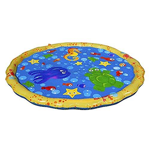噴水マット 噴水おもちゃ プール噴水 プレイマット おもちゃ PVC プール子供用 キッズ 水遊び 親子遊び プールマット 夏対策 庭の中に遊び 家族用 芝生遊び プレゼント アウトドア